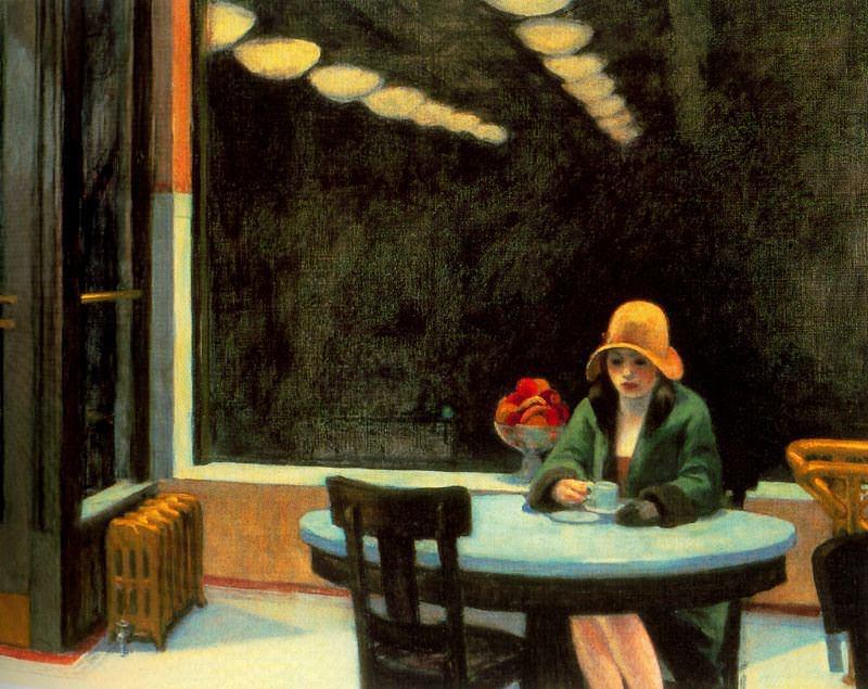 automat Edward Hopper