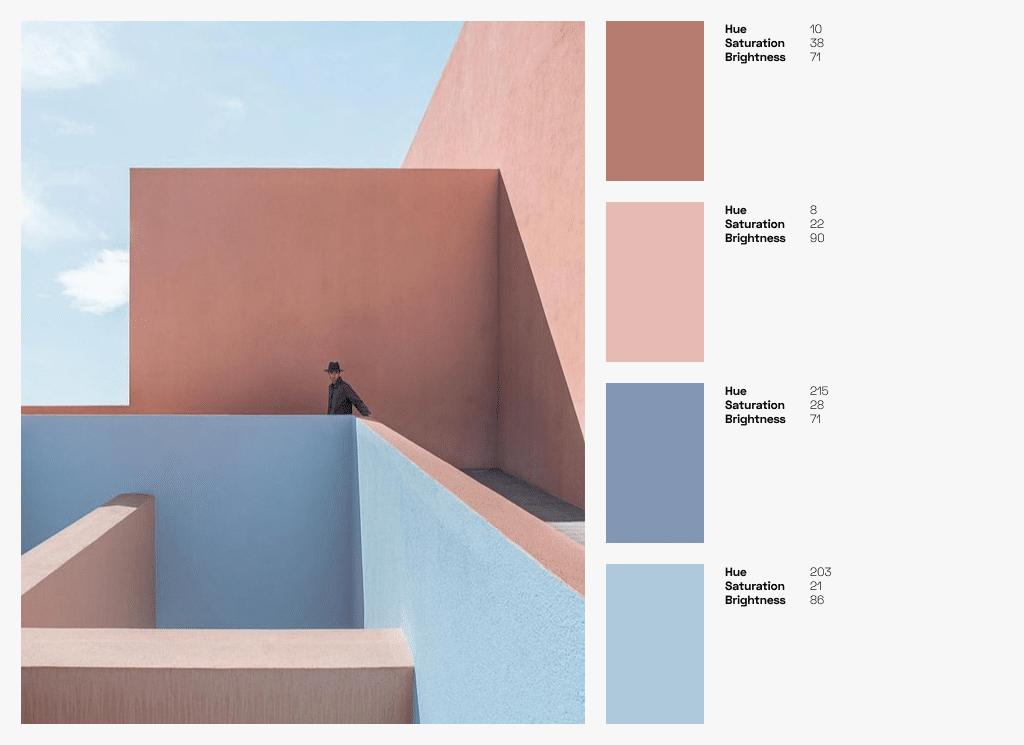 Combining Colors Colour Palettes